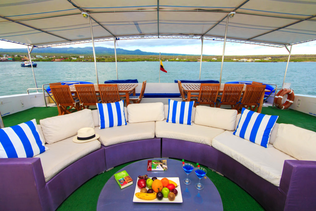 Archipel II Comfort aboard a mid-range Galapagos cruise