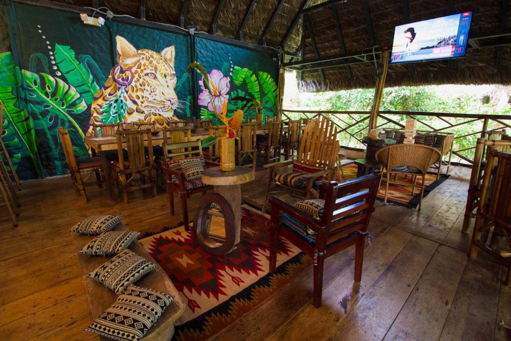 Tasty food at a unique amazon lodge in Tena Ecuador