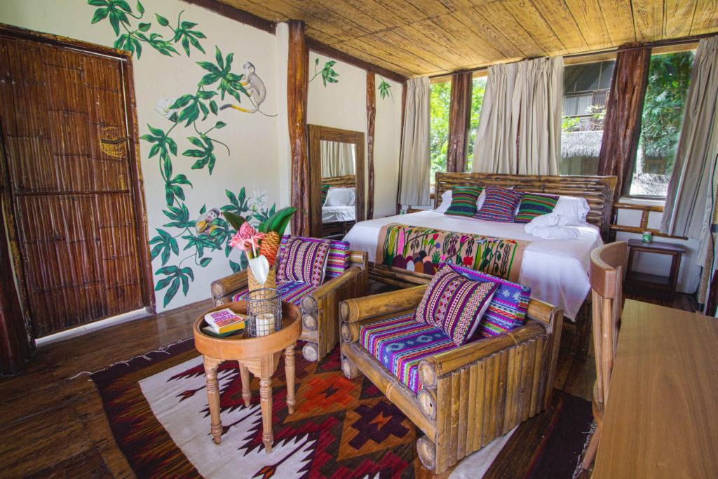 Unique Room at the Selina a unique amazon lodge in Ecuador