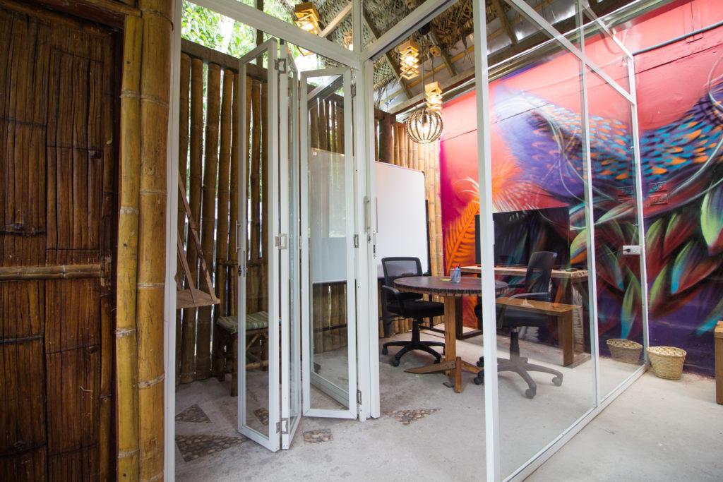 Co-working at Selina Tena Lodge