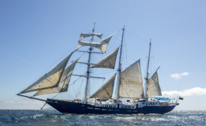 Mary Anne First-Class Galapagos Sailboat