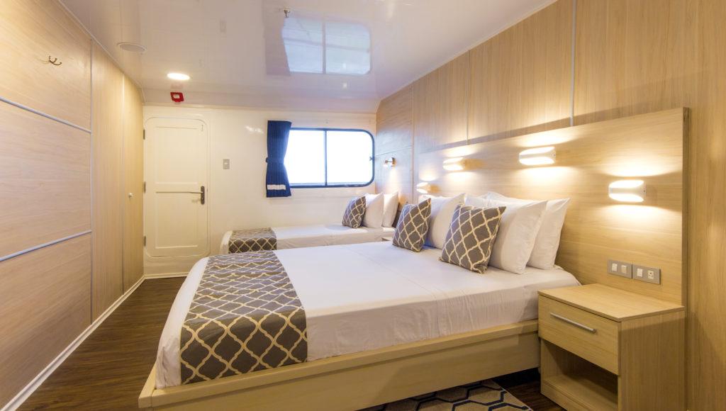 Solaris Upper deck cabin