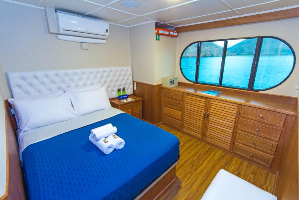 Tip Top II Matrimonial Cabin Galapagos 6 Day