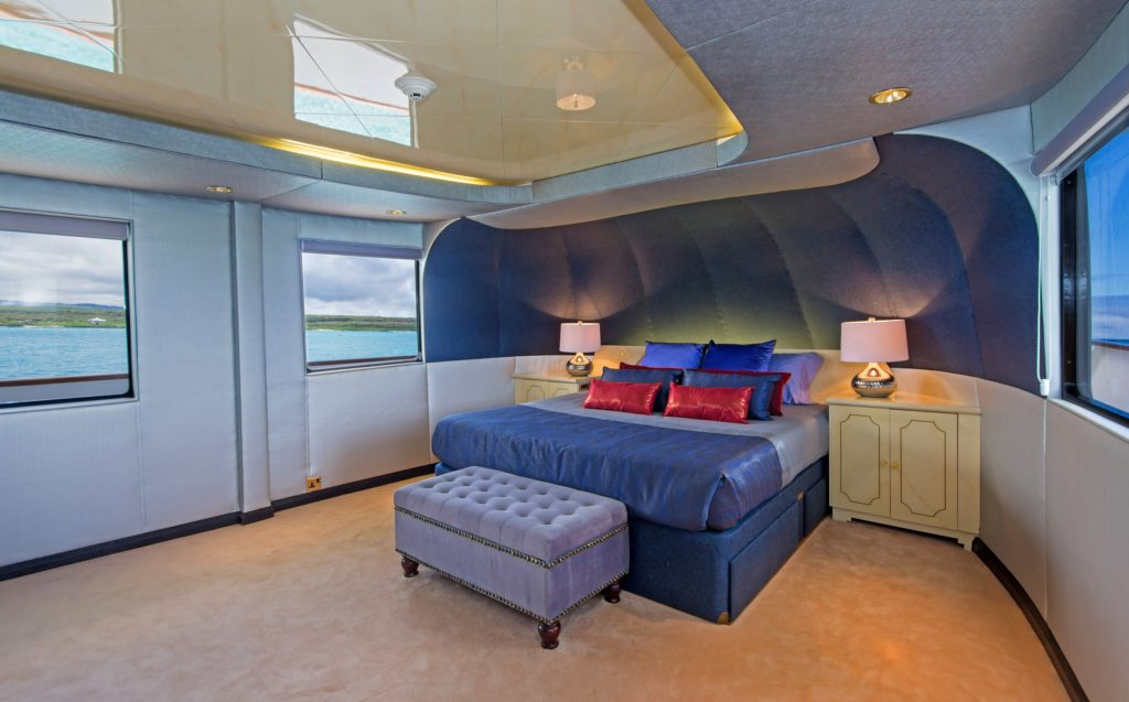 VIP suite aboard the best Galapagos private charter