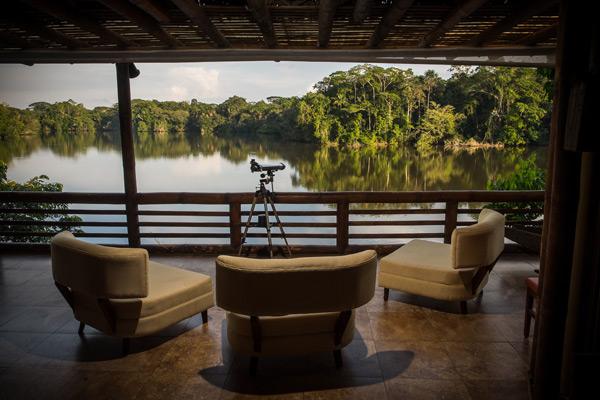Jungle Lodge in Ecuador