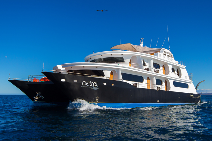 Petrel Deluxe Luxury Cruise in the Galapagos