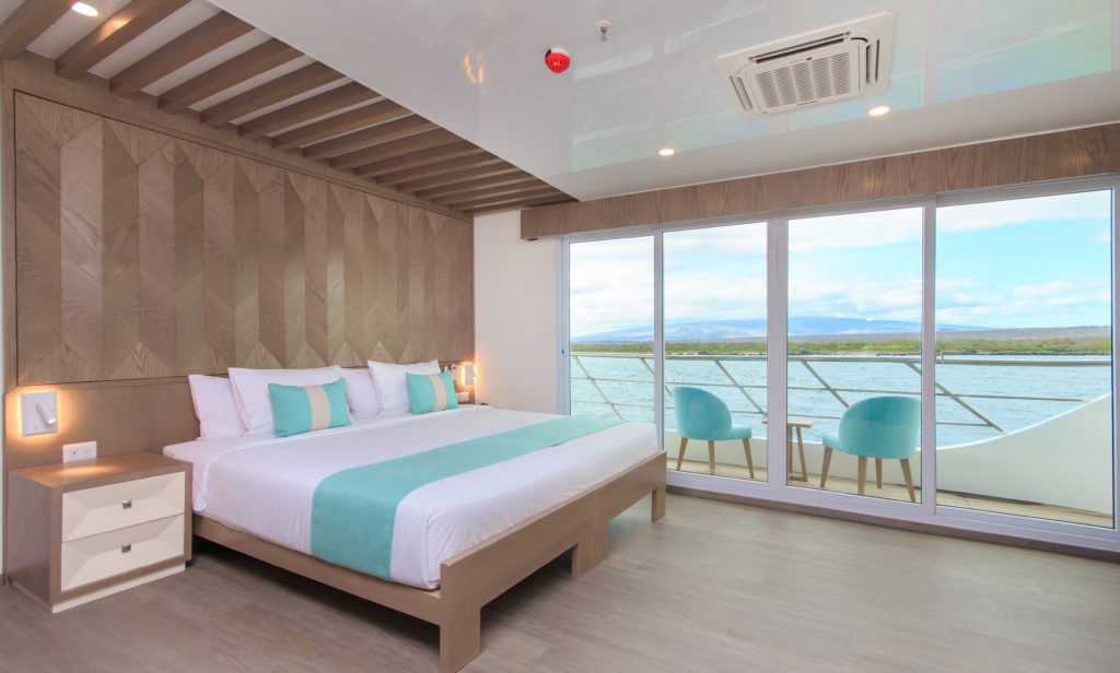 Spacious Suites make the Endemic the best Galapagos luxury expedition