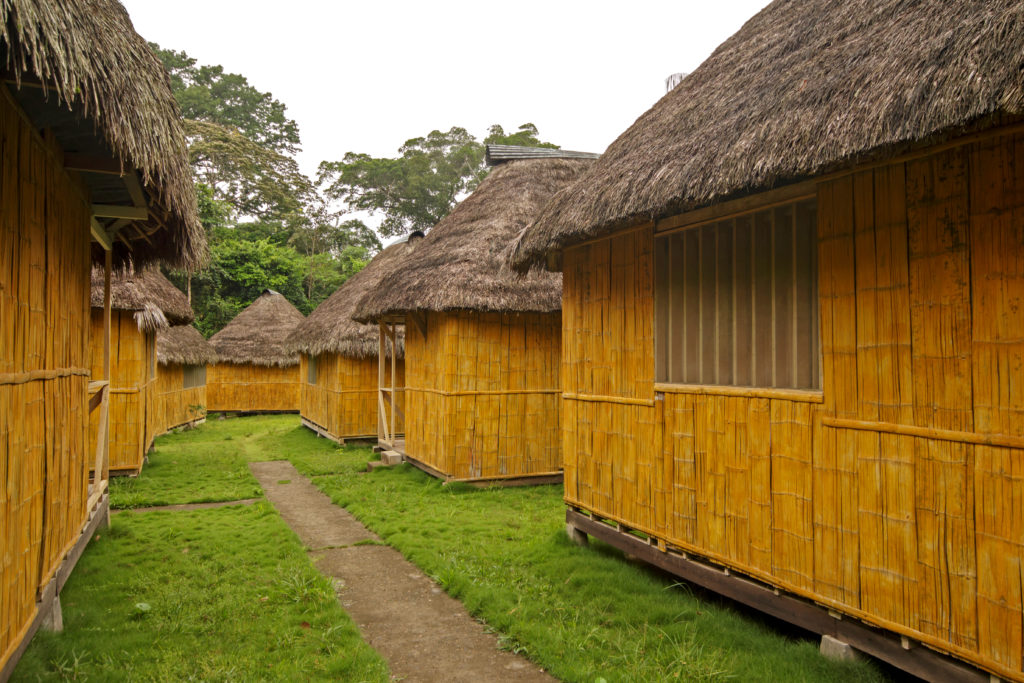 Accommodation at the Amazon Dolphin Lodge