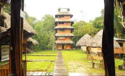 Caiman Lodge Observation Tower