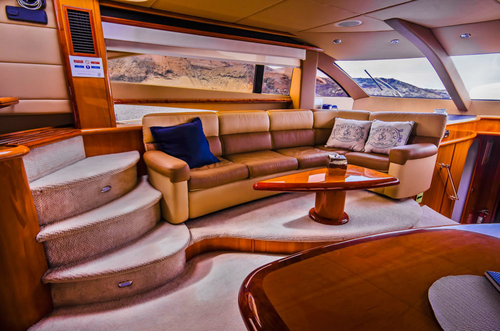 First-Class yacht for island hopping