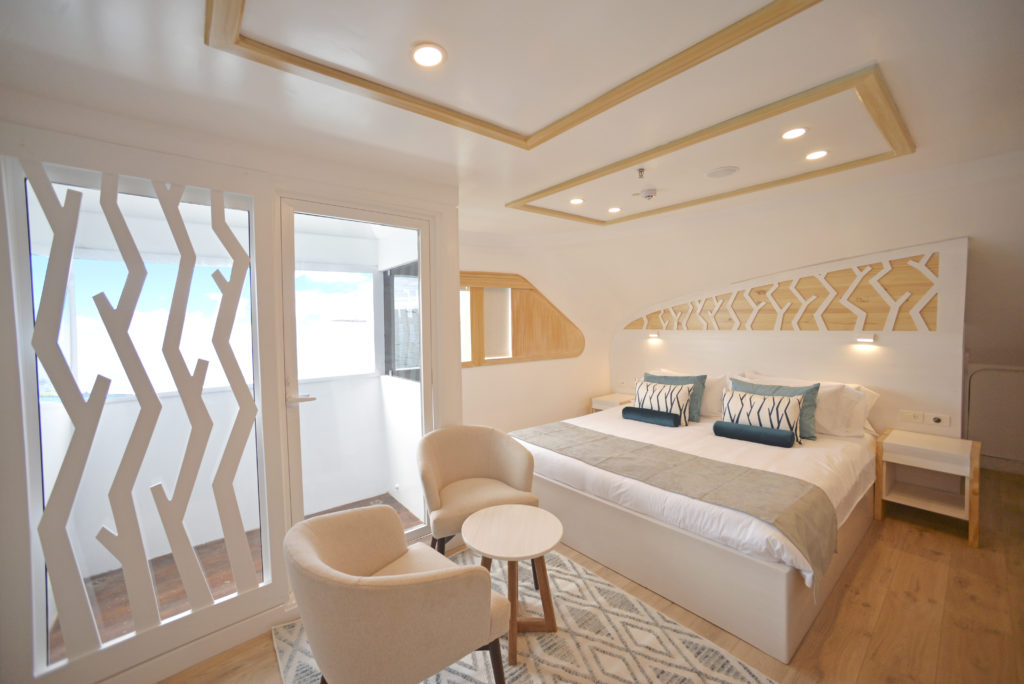 Galapagos Balcony Suite onboard the Sea Star Journey the Perfect Galapagos First-Class Cruise