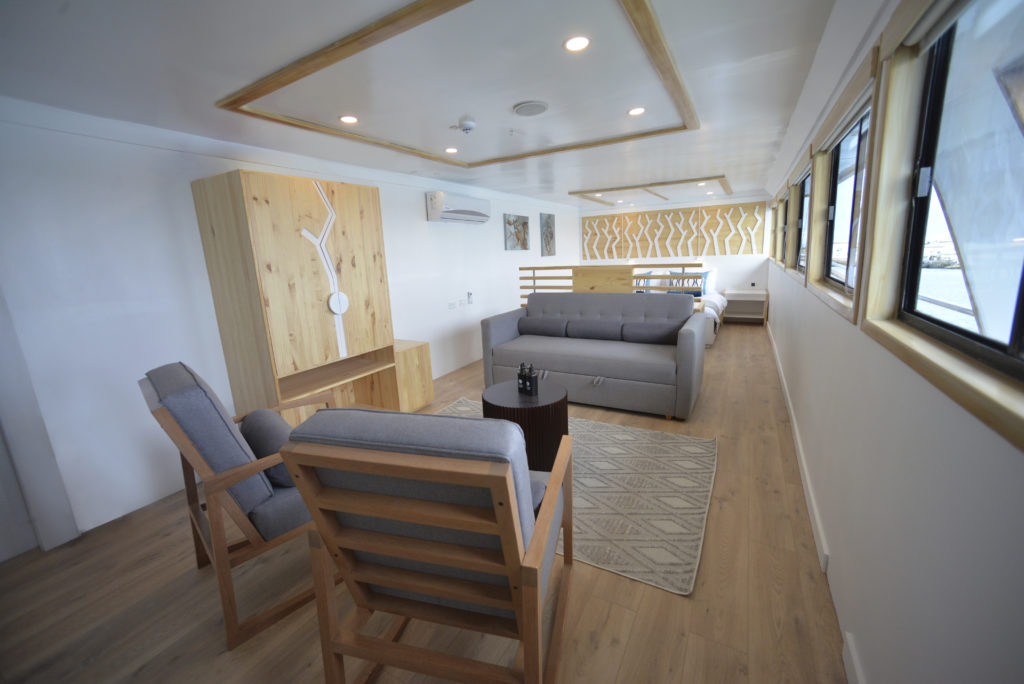Galapagos Sea Star Suite onboard the perfect Galapagos First-Class Cruise