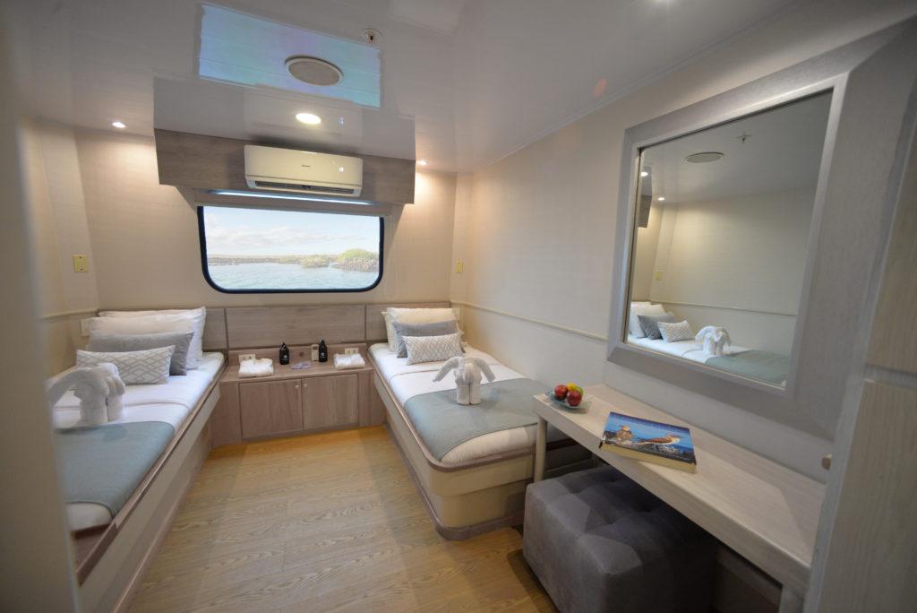 Seaman Twin Cabin
