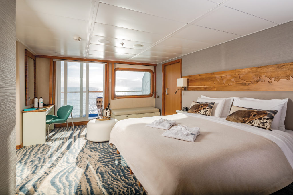 Galapagos Legend Cruise Ship Balcony Suite Plus