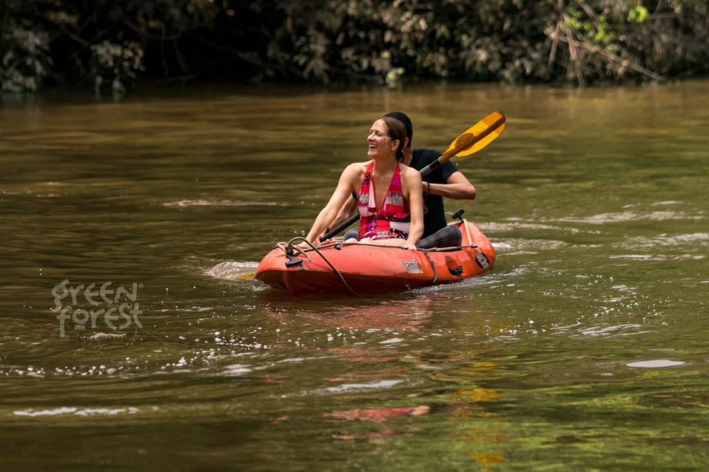Kayaking at the Green Forest Eco Lodge