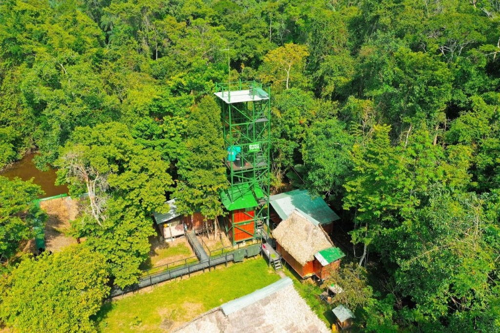 Observation Tower at the Green Forest Lodge
