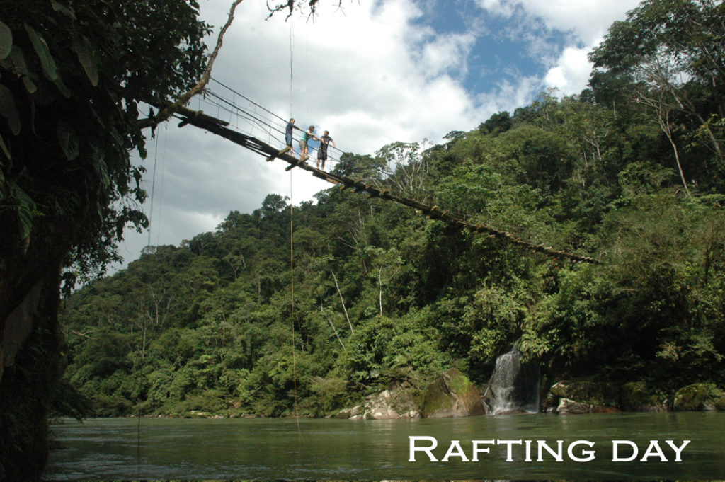 Rafting Lessons 3 Day Amazon Tour from Quito