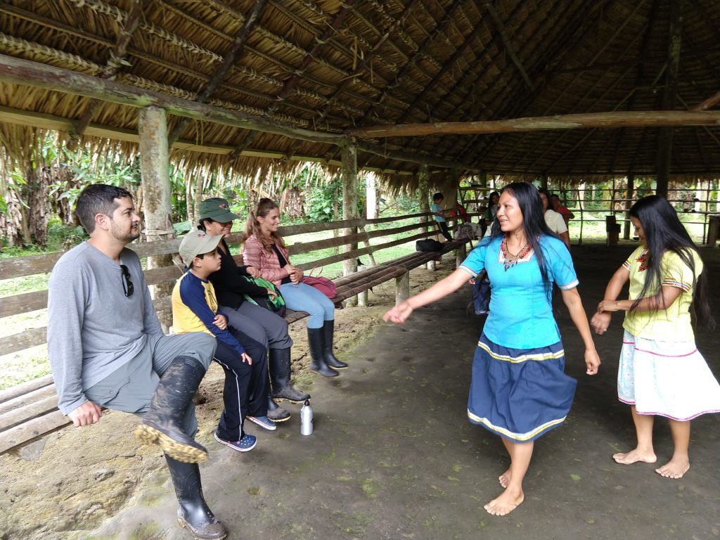 Traditional Dance at the Napo Cultural Center