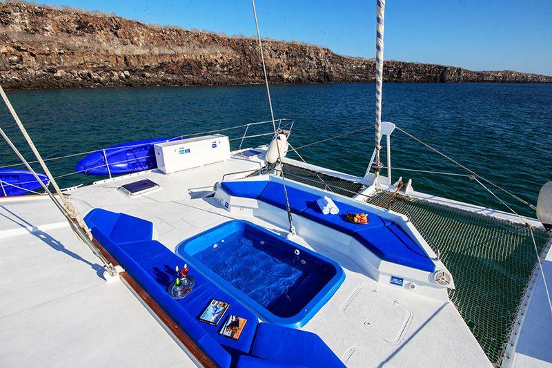 Jacuzzi First Class Galapagos Catamaran