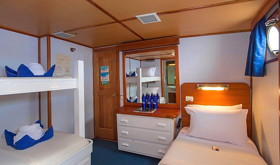 Beluga Triple Cabin