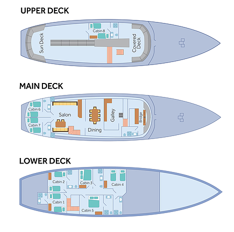 Beluga deck plans
