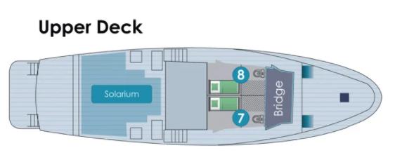 Golondrina Sun Deck Plan