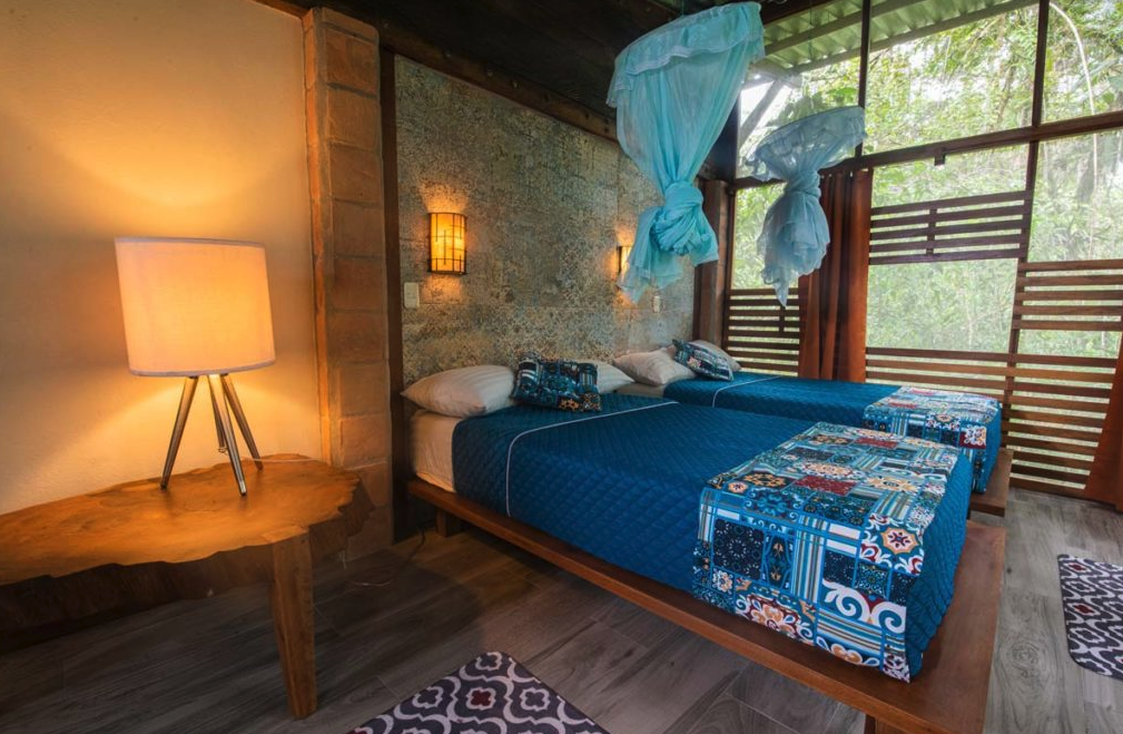 Beautiful suites only at the most comfortable Amazon lodge