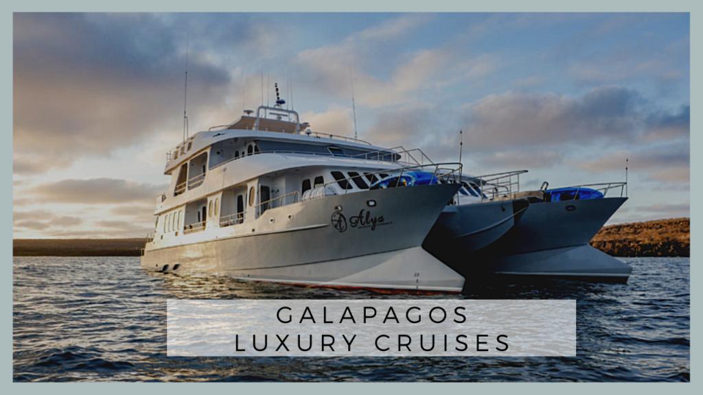 Galapagos Luxury Cruises